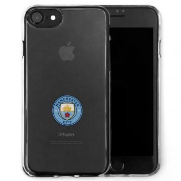 Manchester City Transparent iPhone 7/8 Case